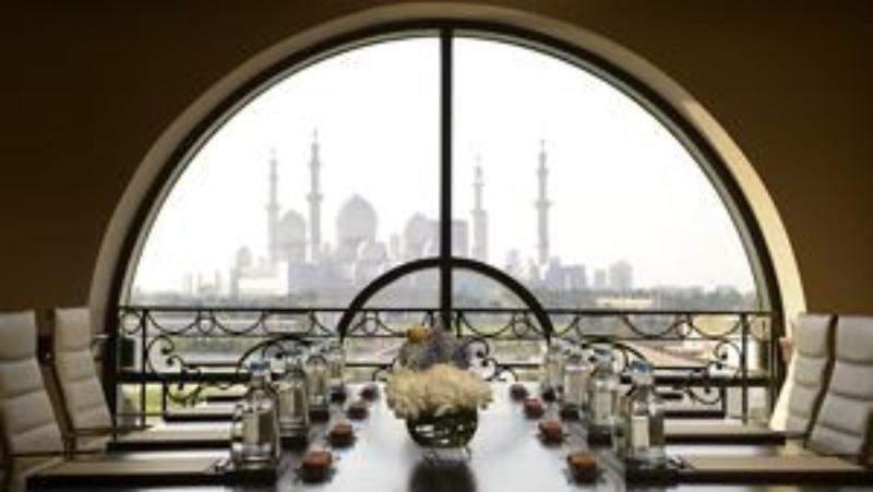 Ritz Carlton Abu Dhabi interieur
